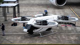 Летающее такси от Airbus