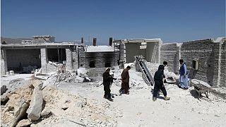 آثار بمبگذاری داعش خراسان در جلالآباد