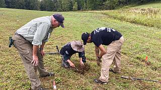 Schlacht von Saratoga: Kriegsveteranen helfen Archäologen