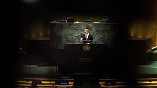 Szijjártó Péter az ENSZ-közgyűlés 76. ülésszakán