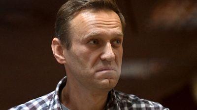 File photo- Alexei Navalny seen in 2020.