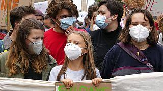 Heute Klimastreik in Berlin - Greta Thunberg protestiert seit 3 Jahren jeden Freitag