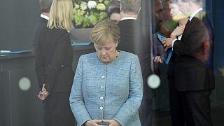 La chancelière allemande Angela Merkel - Berlin (Allemagne), le 30/10/2018