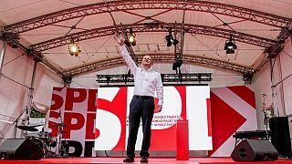 Almanya'da merkez soldaki SPD Partisi'nin şansölye adayı Olaf Scholz