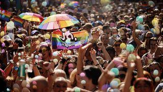 Гей-парад в Цюрихе, сентябрь 2021