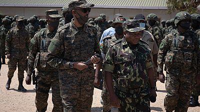 Paul Kagamé rend visite aux soldats rwandais déployés au Mozambique