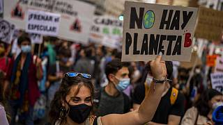 Spain Climate Protests