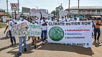 Kenyan youths protest climate change