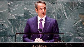 Ο Κυριάκος Μητσοτάκης στη Γενικής Συνέλευση του ΟΗΕ