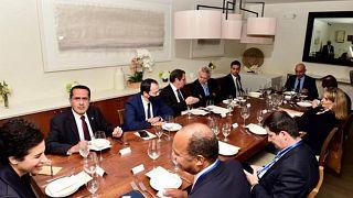 Γεύμα στους εκπροσώπους των μόνιμων μελών του Συμβουλίου Ασφαλείας των Ηνωμένων Εθνών