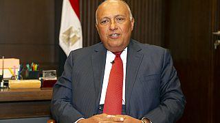 Mısır Dışişleri Bakanı Samih Şukri