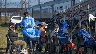 Afrique du Sud : le train Transvaco pour vacciner contre la Covid-19