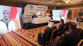 افراد شرکت کننده در کنفرانس اقلیم کردستان عراق