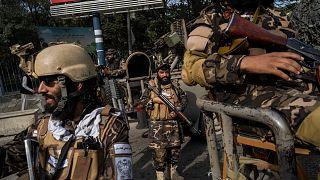 Taliban'la birlikte hareket etmekle birlikte daha otonom bir yapı olan Hakkani grubuna bağlı savaşçılar