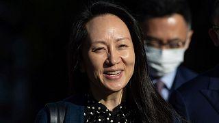 منگ وانژو، مدیر مالی شرکت چینی خدمات مخابراتی «هواوی»