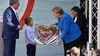 Накануне выборов в бундестаг Ангела Меркель поддержала Армина Лашета