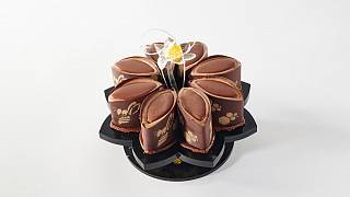 One of Italy's entries in the Pastry World Cup