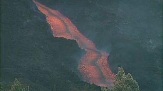 Colada de lava de Cumbre Vieja