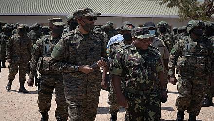 Rwanda's Kagame visits troops in Mozambique, confirms mission on course