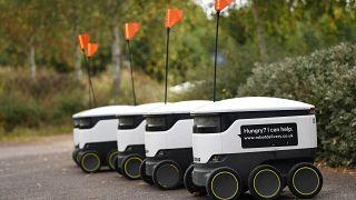 """روبوتات تابعة لشركة """"ستارشيب تكنولوجيز"""""""