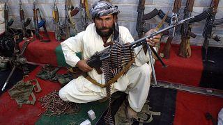 مقاتل في حركة طالبان (أرشيف)