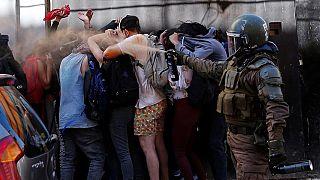 Chili : une manifestation contre l'immigration vénézuélienne dégénère