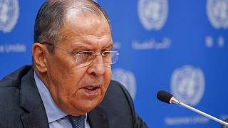 Rusya Dışişleri Bakanı Sergey Lavrov New York'ta bir basın toplantısı düzenledi