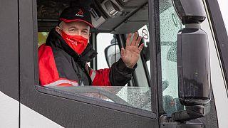İngiltere'de kamyon şoförü sıkıntısı
