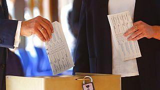 Stimmzettel von Armin Laschet