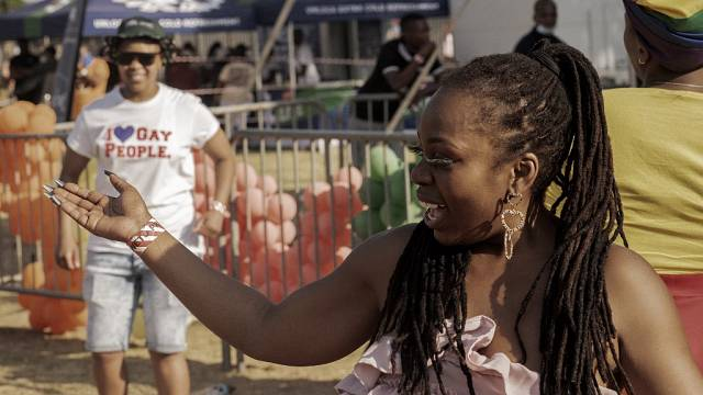 Afrique du Sud : marche des Fiertés à Soweto