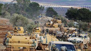 نیروهای نظامی ترکیه در اطراف عفرین/ آرشیو