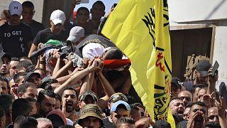 Западный берег Иордана: похороны и протесты