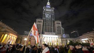 Varsavia: manifestazione per il giornalista arrestato in Bielorussia