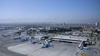 Kabil Uluslararası Havaalanı'nın havadan görüntüsü (arşiv)
