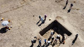 عثر على الفسيفساء في محافظة يوزغات وسط تركيا