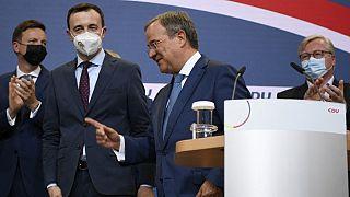 CDU/CSU Şansölye adayı Armin Laschet
