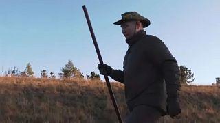 Putin hiking in Siberia - 3-8 September 2021