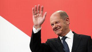Sosyal Demokrat Parti'nin (SPD) Şansölye adayı Olaf Scholz