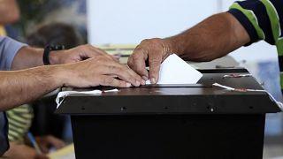 Votação no Funchal