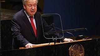 Ο Γενικός Γραμματέας του ΟΗΕ, Αντόνιο Γκουτέρες