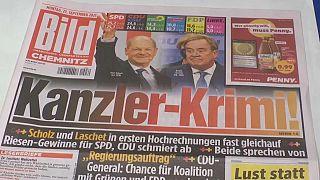 La Une du journal allemand Das Bild ce lundi 27 septembre 2021