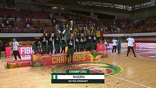 Les Nigérianes remportent l'Afrobasket 2021 face au Mali