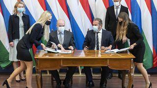 Россия-Венгрия: газ в обход Украины