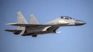 Kína ilyen PLA J-16 vadászgépeket küld időnként fenyegetően Tajvan fölé