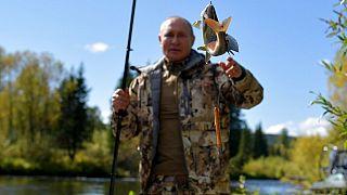 Vlagyimir Putyin orosz elnök 2021 szeptemberi vakációján