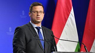 A Miniszterelnökséget vezető miniszter egy szeptemberi Kormányinfón