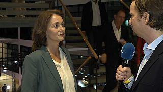 Katarina Barley im Gespräch mit Lutz Faupel