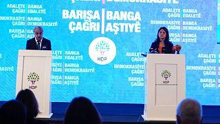 HDP deklerasyonu, Pervin Buldan ve Mithat Sancar tarafından açıklandı