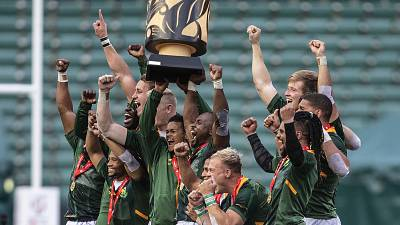 Africa shines in World Rugby Sevens Series