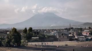 RDC : réapparition de la lave dans le cratère du volcan Nyirangongo